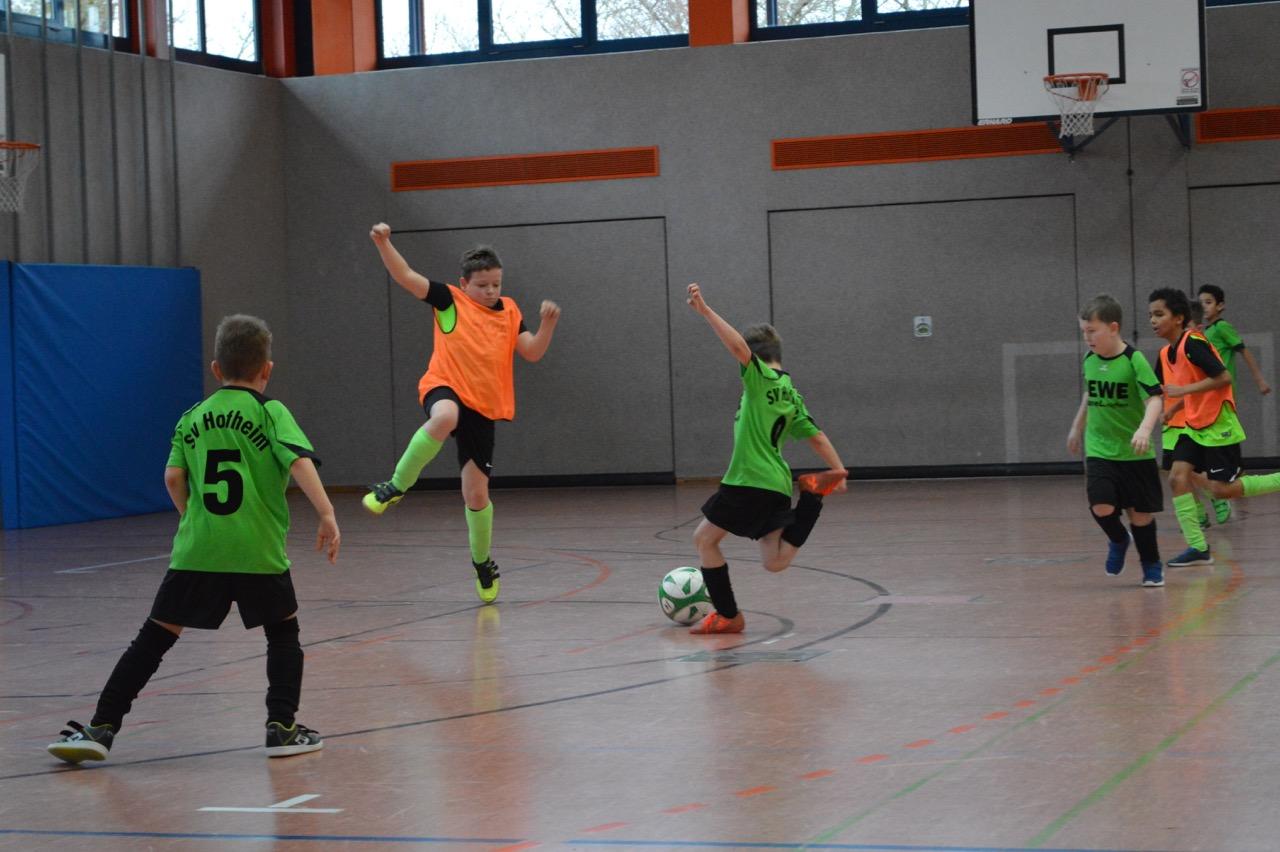 Spielszene U9 SV HOH - FC Neubrunn